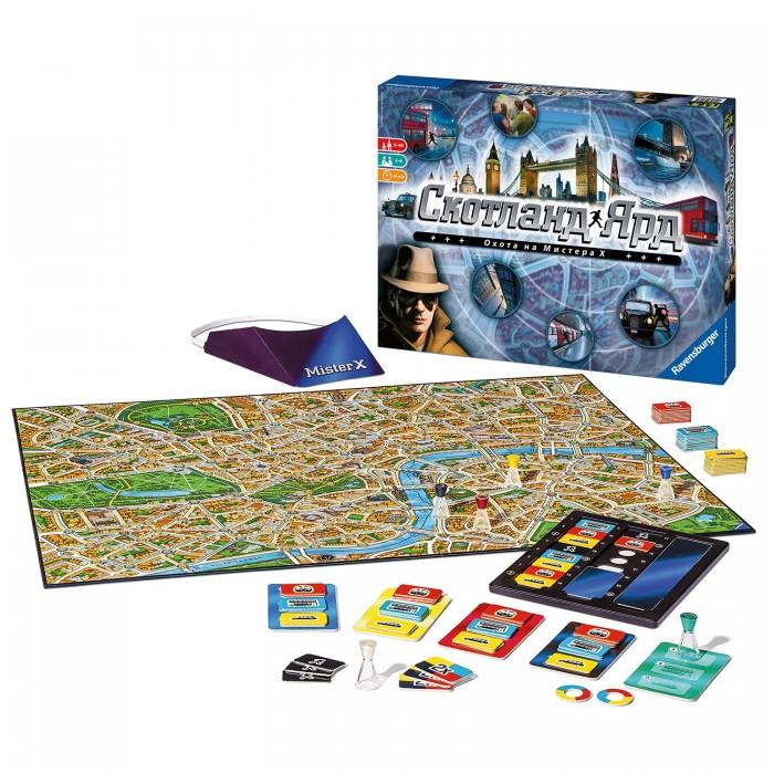 Купить Настольные игры, Ravensburger Настольная игра Скотланд Ярд Новый