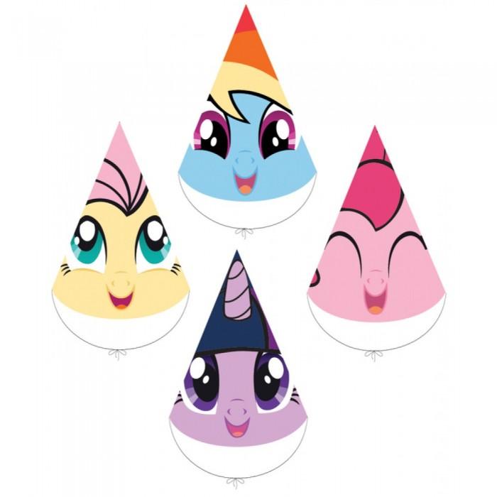 Товары для праздника EstaBella Набор колпачков My Little Pony Любимый пони 4 шт.