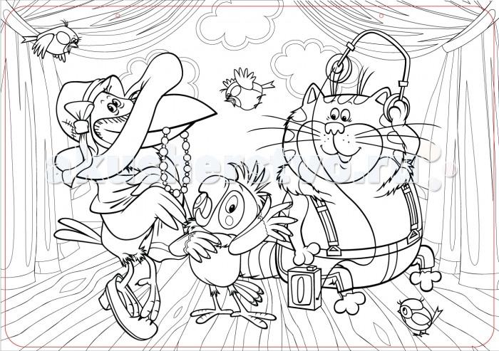 Раскраски ЯиГрушка Коврик для творчества маленький Возвращение блудного попугая 48х33.5 см раскраски яигрушка коврик маленький аксессуары для девочек шляпы 48х33 5 см