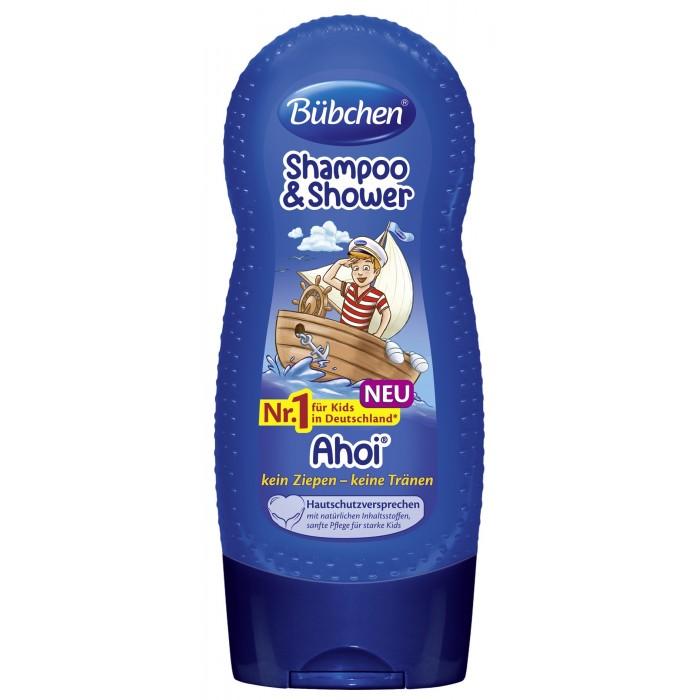 Детская косметика Bubchen Шампунь для мытья волос и тела Йо-хо-хо 230 мл bubchen шампунь для мытья волос и тела спорт и удовольствие bubchen 230 мл