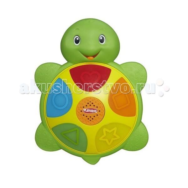 Электронные игрушки Playskool Hasbro Интерактивная игрушка Черепашка черепашка нажимай и догоняй