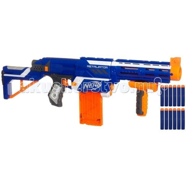 Игрушечное оружие Nerf Hasbro Бластер Элит Риталиэйтор (Elite Retaliator) бластер nerf элит диструптор b9837