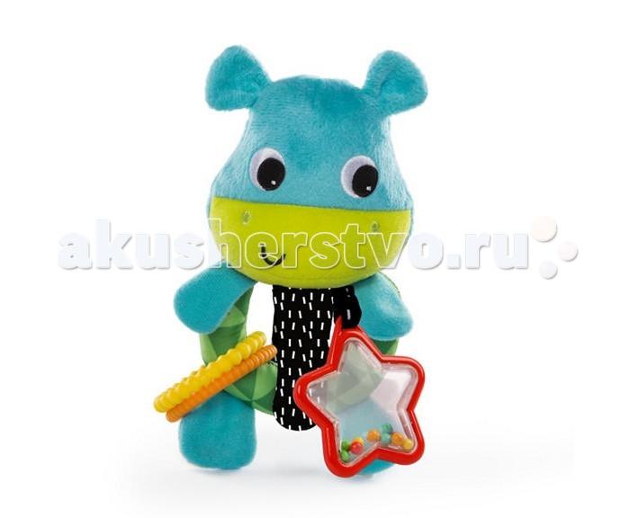 Картинка для Развивающие игрушки Bright Starts Лучшие друзья Бегемотик