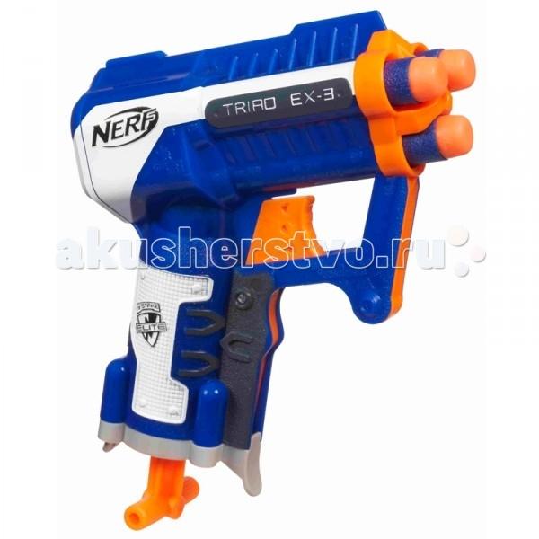 Игрушечное оружие Nerf Hasbro Бластер Элит Триад игрушечное оружие nerf hasbro элит 3 ракеты