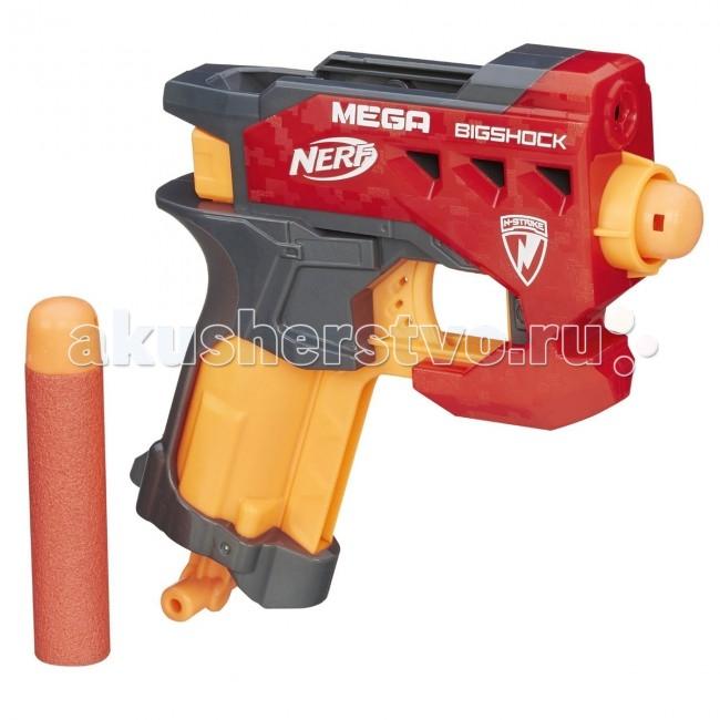 Игрушечное оружие Nerf Hasbro Бластер Мега Большой выстрел бластер nerf мега большой выстрел a9314