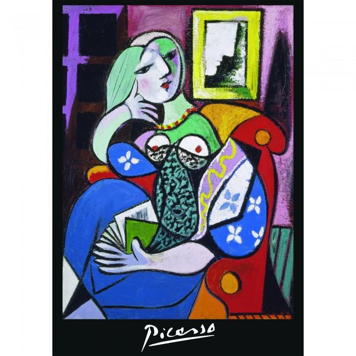 Piatnik  Пазл Пабло Пикассо Женщина с книгой 1000 деталей
