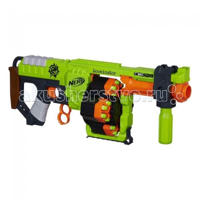 Игрушечное оружие Nerf Hasbro Бластер Зомби Страйк Ордовик hasbro nerf a9603 нерф зомби страйк переворот бластер