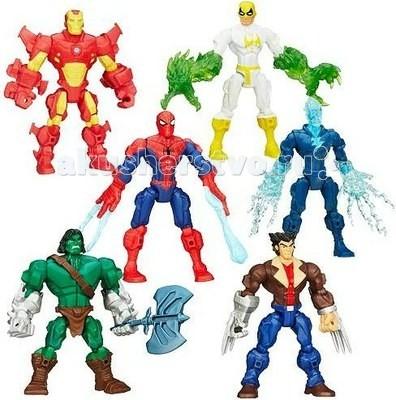 Игровые фигурки Марвел (Marvel) Mashers Разборные фигурки