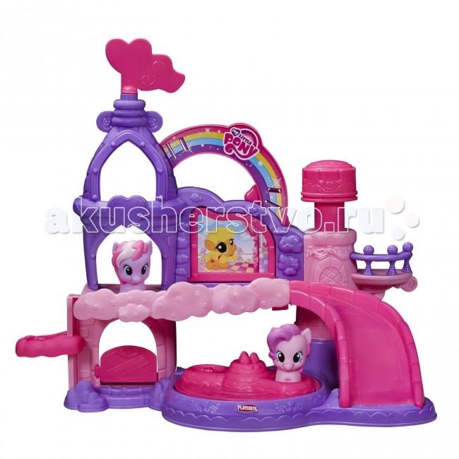 Игровые наборы Май Литл Пони (My Little Pony) Hasbro Playskool friends Праздничный замок музыкальный hasbro hasbro my little pony игровой набор поезд дружбы