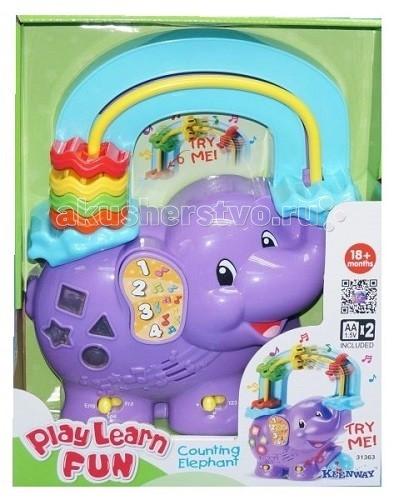 Музыкальные игрушки Keenway Считалка Веселый слоник музыкальные игрушки