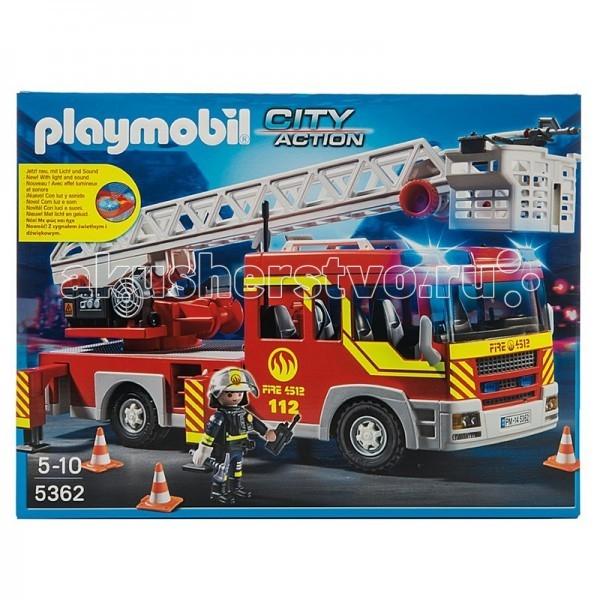 Конструктор Playmobil Пожарная службаПожарная службаКонструктор Playmobil Пожарная служба - находка для заботливых родителей! Конструктор Вашего ребенка должен быть именно таким: красочным, безопасным и очень интересным.  Особенности: Пожарная машина с лестницей со светом и звуком Конструктор Playmobil отлично развивают мелкую моторику, фантазию и воображение;  Количество деталей: 82 шт;  Материал: безопасный пластик;  Для работы необходимы 2 батарейки типа ААА (не в комплекте);  Размер минифигурки: 7,5 см.  В наборе: минифигурка пожарного, пожарная машина, огнетушитель, лопата, катушка, инструменты, аксессуары.<br>