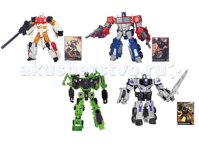 Transformers Hasbro Дженерэйшнс ВояджерHasbro Дженерэйшнс ВояджерФигурка Трансформера из серии Generations Combiner Wars, относящаяся к классу «Вояджер» - это достаточно большая и очень детализированная игрушка, которая способно трансформироваться.   Для каждой фигурки предусмотрено свое количество ступеней трансформации, но в целом оно невелико — около 10.   Вместе с фигуркой робота поставляется карточка коллекционера.   Трансформер превращается в транспортное средство, вид которого также индивидуален для каждого персонажа.   Уникальность этой серии еще и в том, что фигурки можно объединять с фигурками Generations классов «Делюкс», «Лидер», «Легенд» и создавать огромных мега-трансформеров.  Размеры фигурки - 22 см (высота в виде робота)  Внимание! Цвета в ассортименте. Поставка определенной расцветки не гарантируется.<br>