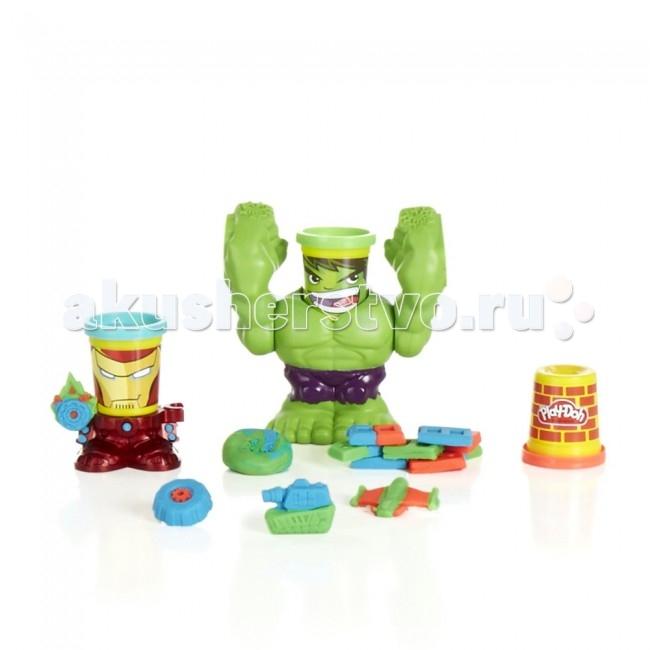 Всё для лепки Play-Doh Hasbro Набор Битва Халка play doh игровой набор праздничный торт