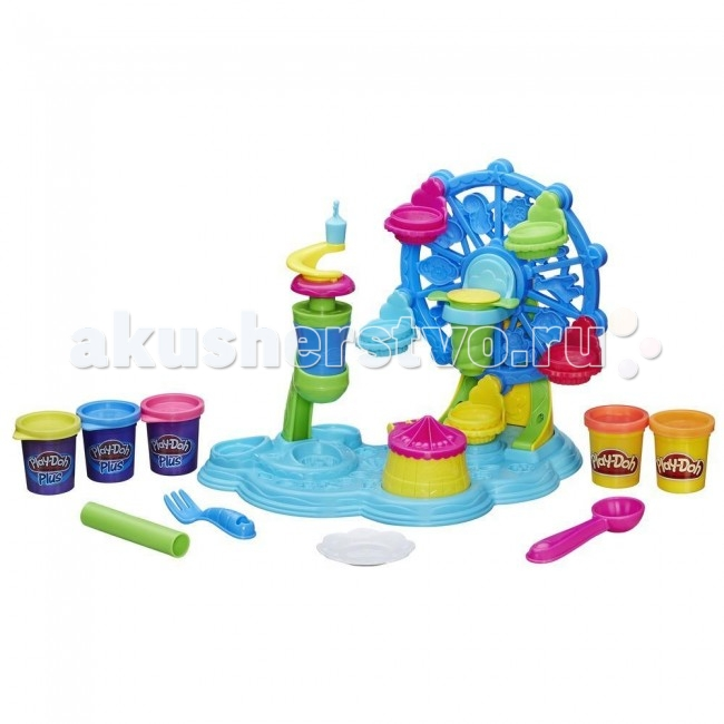 Всё для лепки Play-Doh Hasbro Набор Карнавал сладостей play doh игровой набор магазинчик домашних питомцев