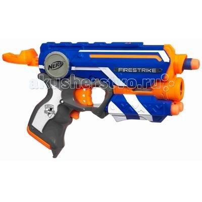 Игрушечное оружие Nerf Hasbro Бластер Элит Файрстрайк игрушечное оружие nerf hasbro бластер элит разрушитель