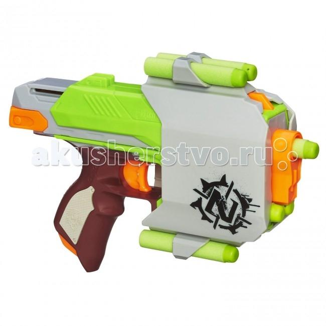 Игрушечное оружие Nerf Hasbro Бластер Зомби Страйк Сайдстрайк nerf бластер зомби страйк двойная атака с 8 лет