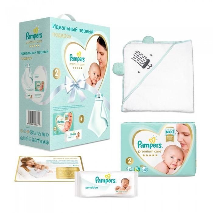 Pampers Подарочный набор Premium Care Размер 2 (4-8 кг) 66 шт.
