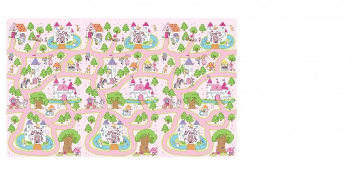 Игровой коврик ЯиГрушка в рулоне Замки принцесс