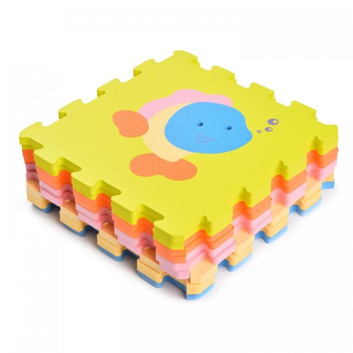 Игровой коврик ЯиГрушка пазл Милые домашние животные (9 деталей) фото