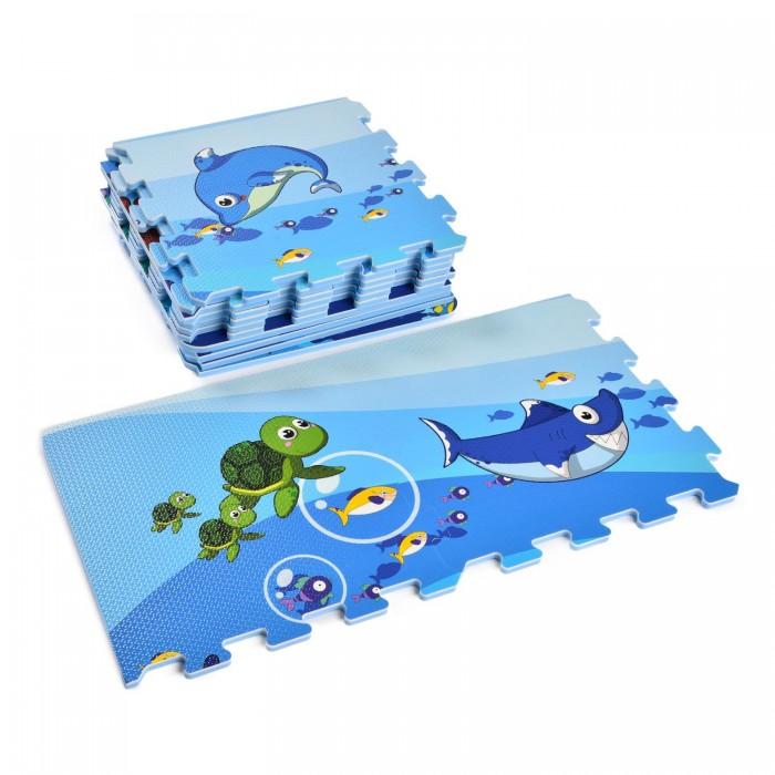 Купить Игровые коврики, Игровой коврик ЯиГрушка пазл Водный мир (12 деталей)