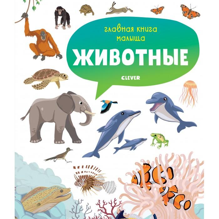 Купить Clever Бессон А. Главная книга малыша Животные в интернет магазине. Цены, фото, описания, характеристики, отзывы, обзоры