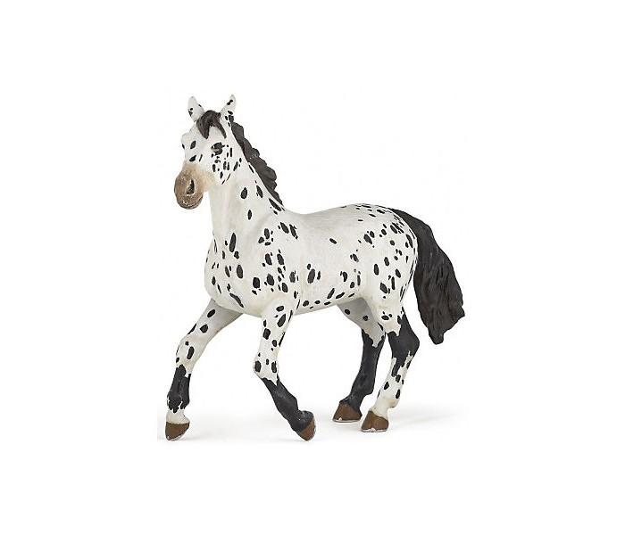 Игровые фигурки Papo Игровая реалистичная фигурка Черная апалузская лошадь