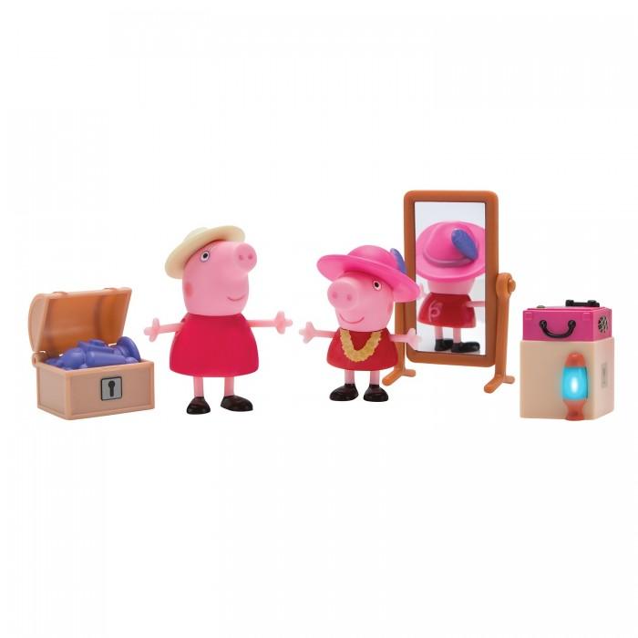 Купить Игровые наборы, Свинка Пеппа (Peppa Pig) Игровой набор Пеппа и Бабушка в гардеробной