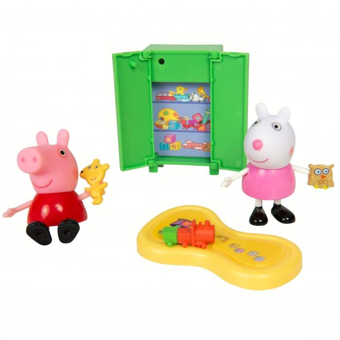 Купить Игровые наборы, Свинка Пеппа (Peppa Pig) Игровой набор Пеппа и Сьюзи играют в игры