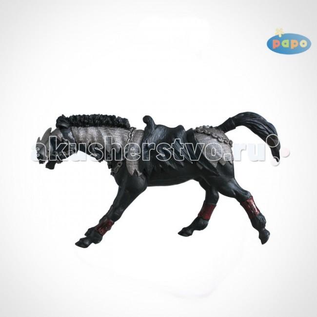 Игровые фигурки Papo Игровая фигурка Фэнтази черный конь