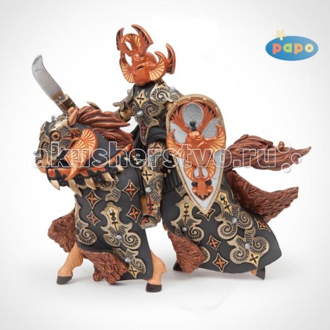 Игровые фигурки Papo Игровая фигурка Воин черного жука и его конь