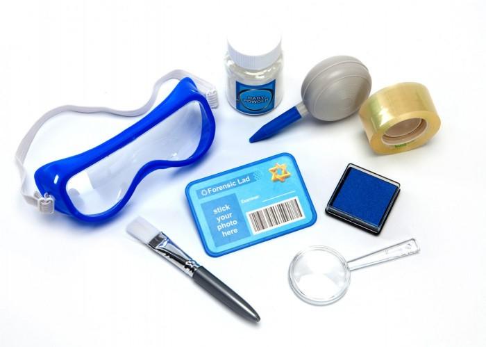 Купить Наборы для опытов и экспериментов, Bradex Набор детский для снятия отпечатков пальцев Юный Детектив