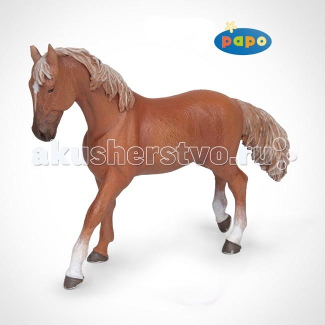 Игровые фигурки Papo Игровая реалистичная фигурка Рыжая верховая лошадь