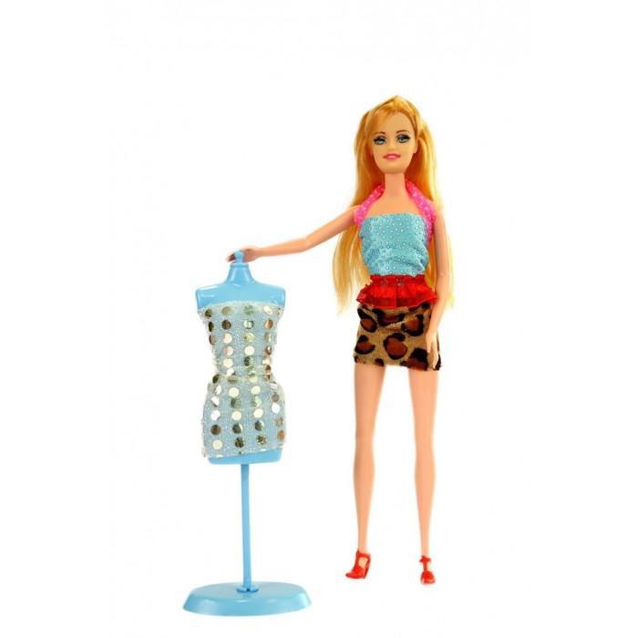 Куклы и одежда для кукол Bradex Набор для создания кукольного платья Я Дизайнер с куклой