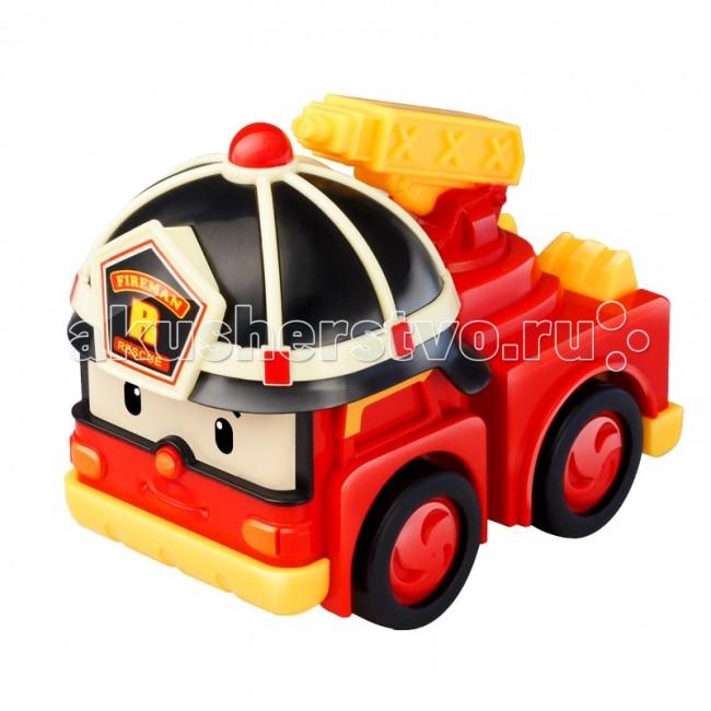 Машины Робокар Поли (Robocar Poli) Инерционная машинка Рой 8 см пламенный мотор машинка инерционная volvo пожарная охрана