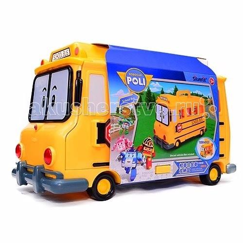 Robocar Poli Кейс для хранения машинок СкулбиКейс для хранения машинок СкулбиRobocar Poli Кейс для хранения машинок Скулби на 14 машинок станет любимой игрушкой малыша! Если ребенок любит играть с маленькими машинками, которые могут затеряться на полках и в автопарке с большими машинками, их можно сложить в кейс Скулби, в котором есть 14 мест для маленьких автомобилей.  С таким кейсом от компании Robocar POLI можно отправиться на прогулку и играть в песочнице с друзьями, игрушек хватит всем. Также можно собрать машинки из мультфильма «Робокар Поли» и отправиться с ними на пикник за город или перевезти для участия в соревнованиях или конкурсах.  Особенности: В комплект входит школьный автобус Скулби, в котором расположен гараж для 14 маленьких автомобилей (размером 6 см). Этот автобус возит детей в школу, поэтому ребенок может играть как с фигурками людей, так и с маленькими машинками. Для машинок-детей в мультфильме также придуманы различные упражнения и соревнования, обучение правилам дорожного движения под руководством Поли, поэтому Скулби может доставить всех на занятия. Игровые наборы помогают развиваться памяти, чувству дружбы и взаимопомощи. Фантазируя, малыш придумывает различные игровые ситуации, в которых учится помогать другим.  Продукция сертифицирована, экологически безопасна для ребенка, использованные красители не токсичны и гипоаллергенны. Игра развивает: Память Логическое мышление Мелкую моторику Фантазию Усидчивость Внимательность<br>