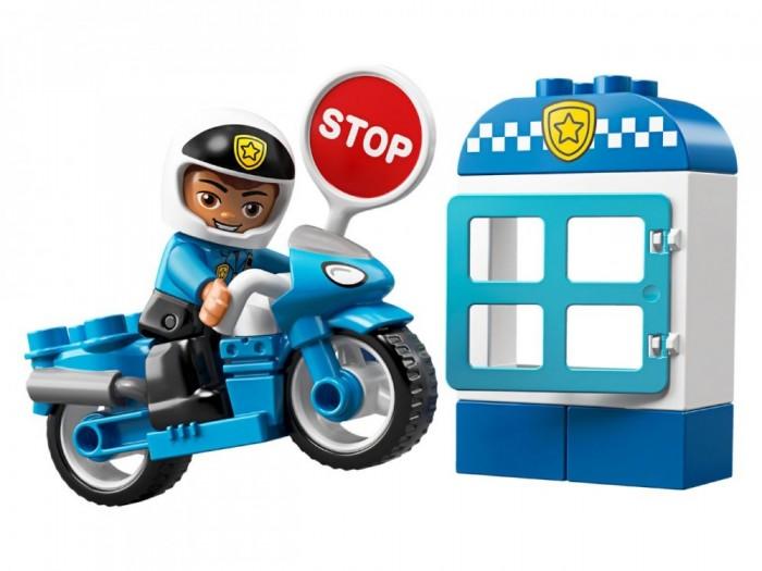 Конструктор Lego Duplo 10900 Town Полицейский мотоцикл