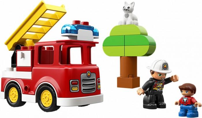 Lego Lego Duplo 10901 Town Пожарная машина (21 деталь)