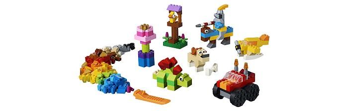 Фото - Lego Lego Classic 11002 Базовый набор кубиков lego записная книжка lego classic duck build с ручкой и мини фигурой 192 листа