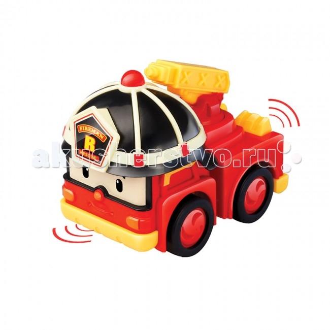 robocar poli игрушечный трек умная машинка эмбер Машины Робокар Поли (Robocar Poli) Умная машинка Рой 6 см