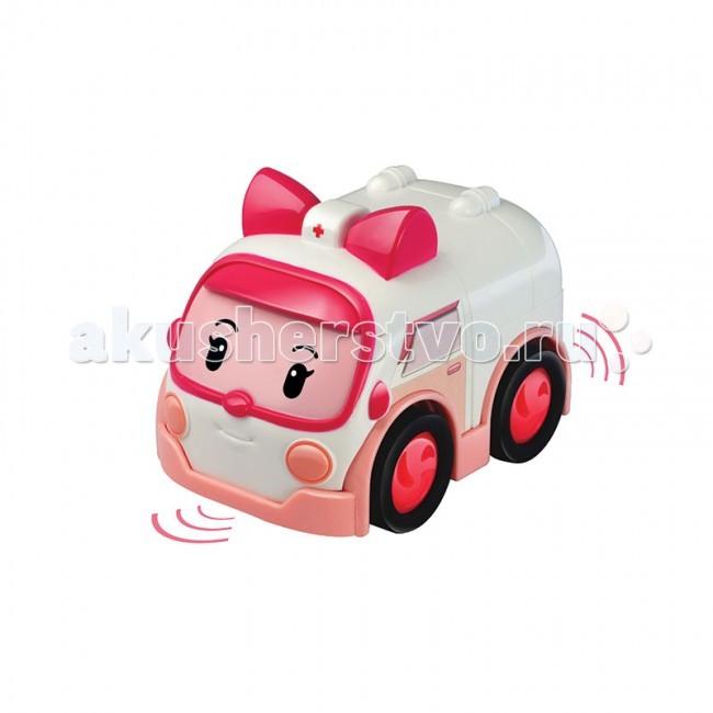 Машины Робокар Поли (Robocar Poli) Умная машинка Эмбер 6 см радиоуправляемые игрушки poli машинка