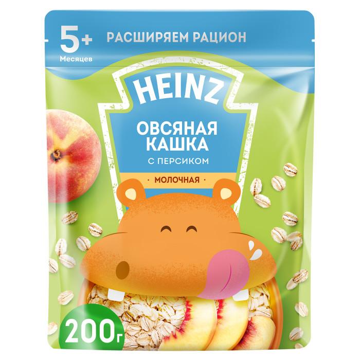 овсяная мука с пудовъ 400 г Каши Heinz Молочная Овсяная каша с персиком и Омега 3 с 5 мес. 200 г (пауч)