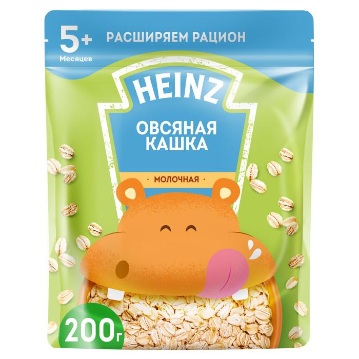 овсяная мука с пудовъ 400 г Каши Heinz Молочная Овсяная каша с Омега 3 с 5 мес. 200 г (пауч)