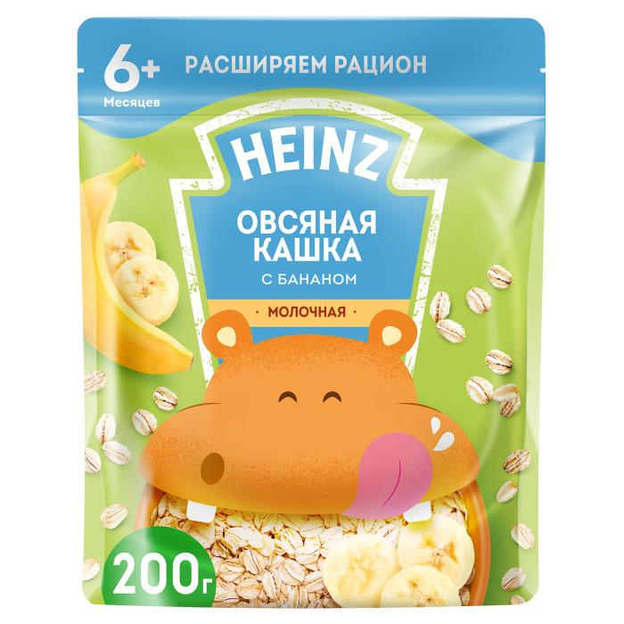 Купить Heinz Молочная Овсяная каша с бананом и Омега 3 с 6 мес. 200 г (пауч) в интернет магазине. Цены, фото, описания, характеристики, отзывы, обзоры