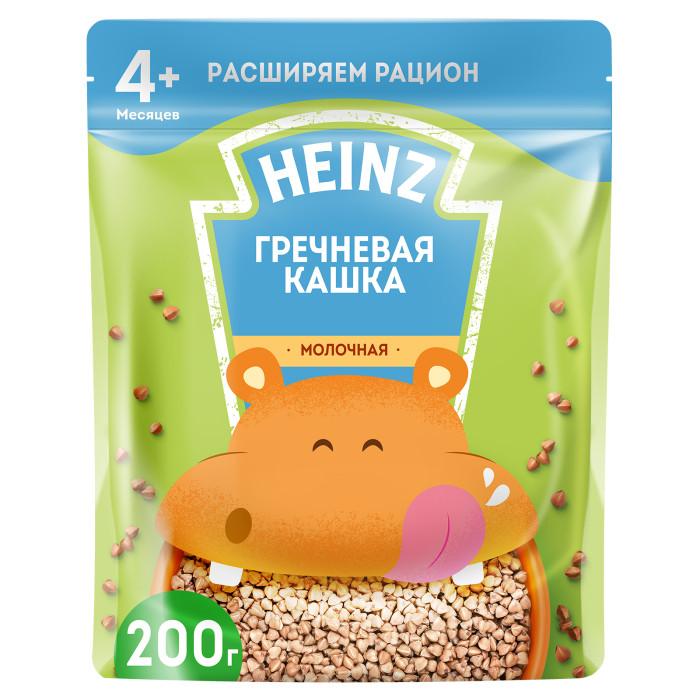 Каши Heinz Молочная Гречневая каша с Омега 3 с 4 мес. 200 г (пауч) вотчина каша гречневая с грибами и луком 338 г