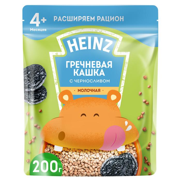 Каши Heinz Молочная Гречневая каша с черносливом и Омега 3 с 4 мес. 200 г (пауч) вотчина каша гречневая с грибами и луком 338 г