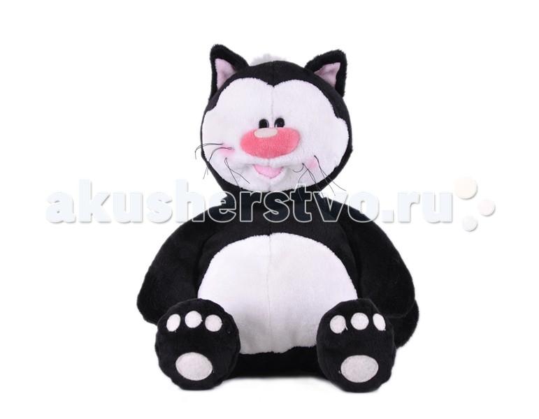Мягкие игрушки Gulliver Кот Котя черный сидячий 23 см