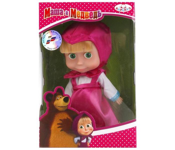 Купить Куклы и одежда для кукол, Карапуз Кукла Маша с аксессуарами 15 см