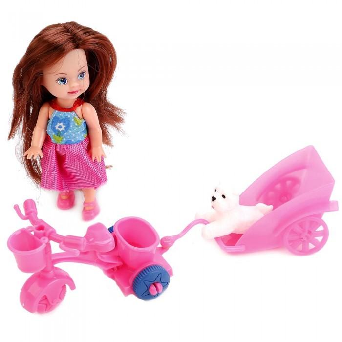 Куклы и одежда для кукол Карапуз Кукла Hello Kitty Машенька 12 см hello kitty я иду в гости