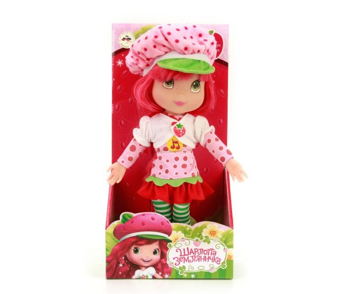 Куклы и одежда для кукол Мульти-пульти Кукла Strawberryy Shartcake 30 см