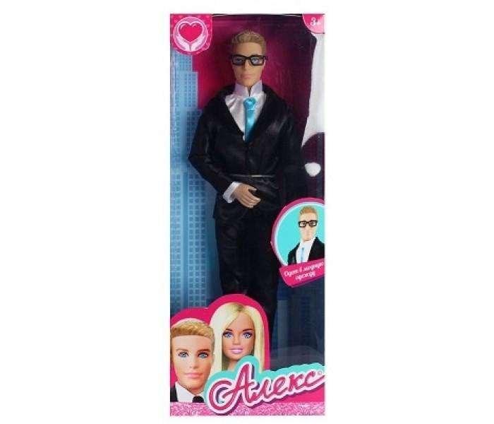 Купить Куклы и одежда для кукол, Карапуз Кукла Алекс в костюме и очках 29 см